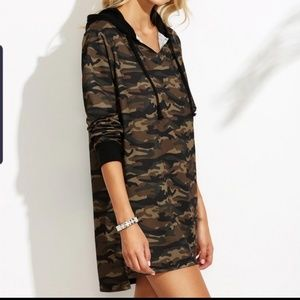 Yidao camo dress